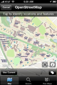 ArcGIS on the iPhone