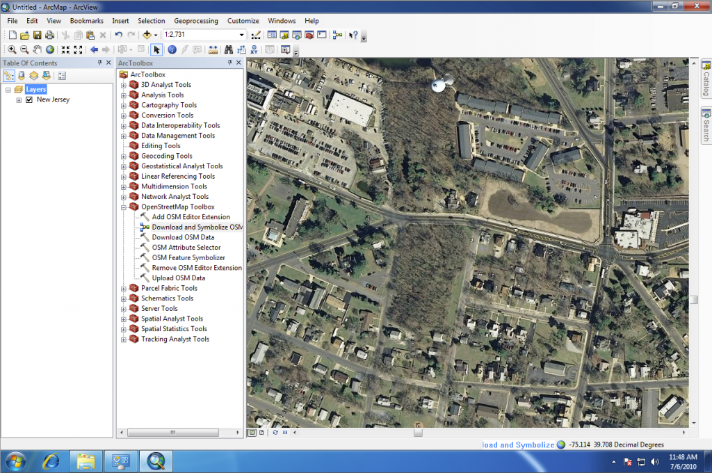 ArcGIS Editor for OpenStreetMap | new jersey geographer