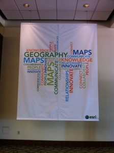 Geography Word Cloud Banner