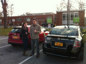 Chelsey and Mike approve of Zipcar